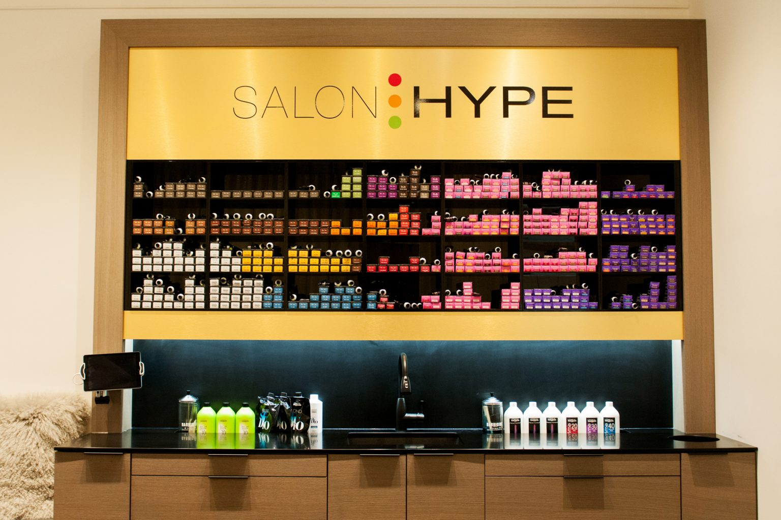 salon hype hair salon interior